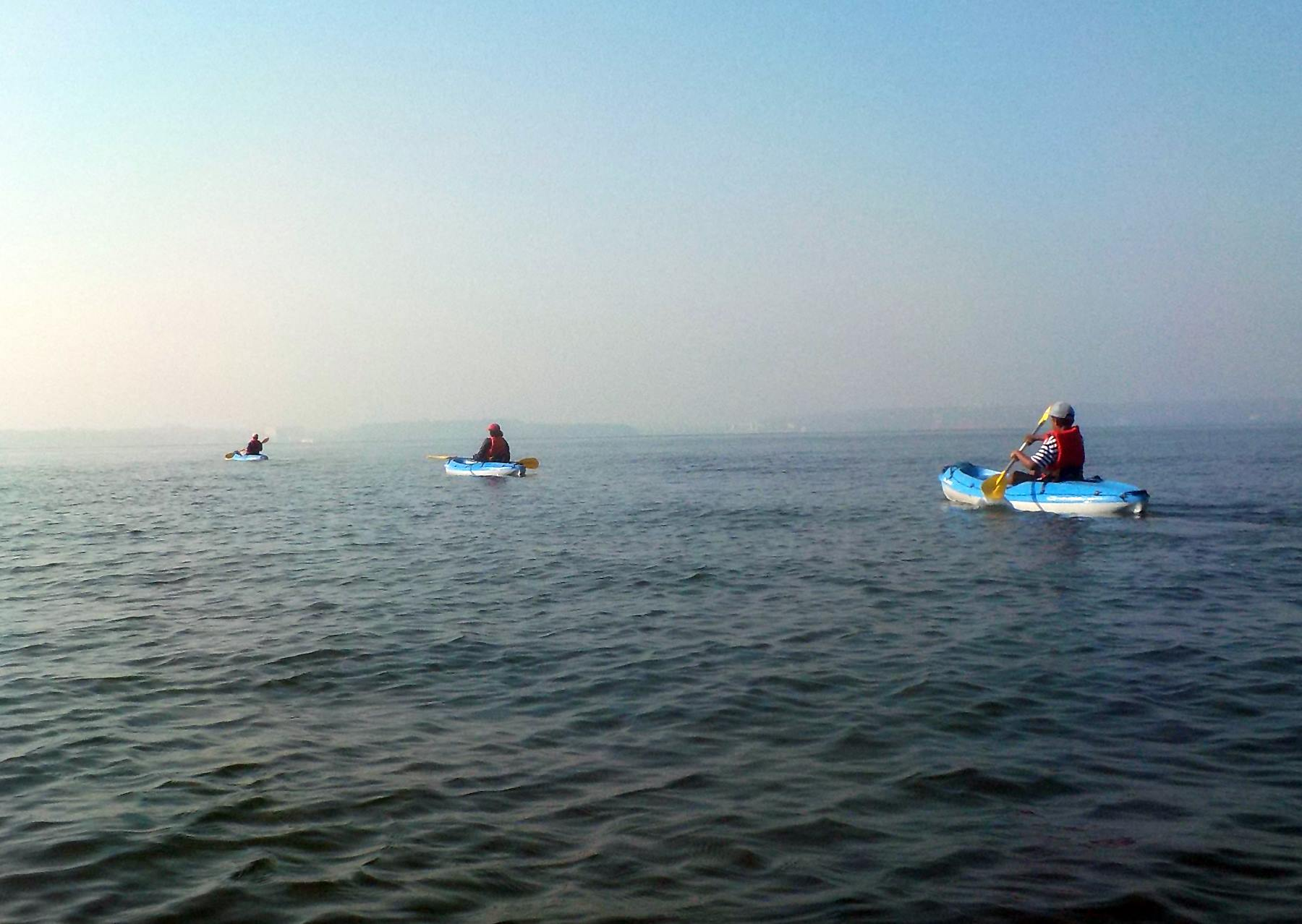 Sea Kayaking in Goa - Boat Trip