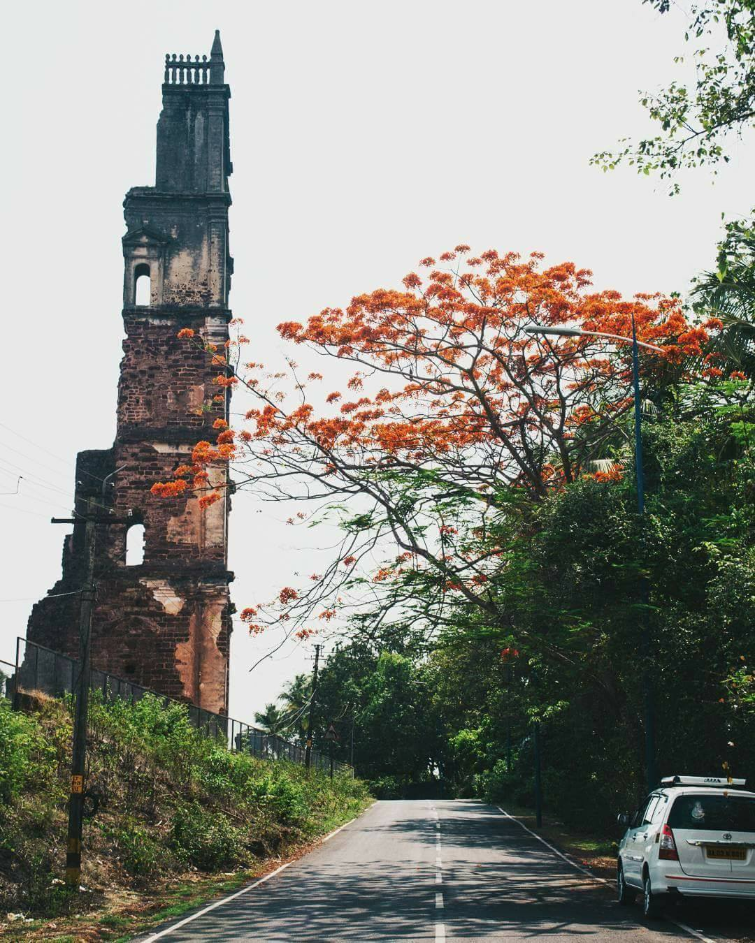 St. Augustine Tower, Old Goa.