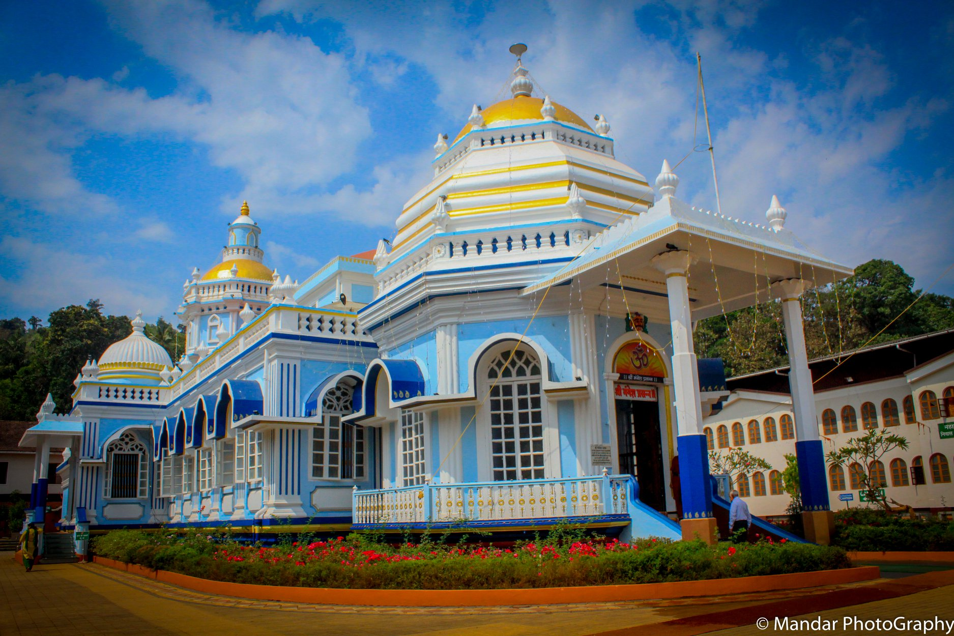 Mangeshi Temple in Goa - Beautiful