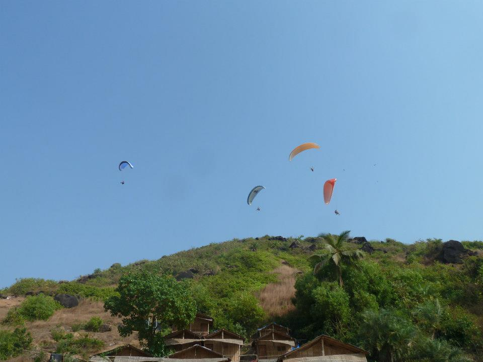Paragliding in Goa -
