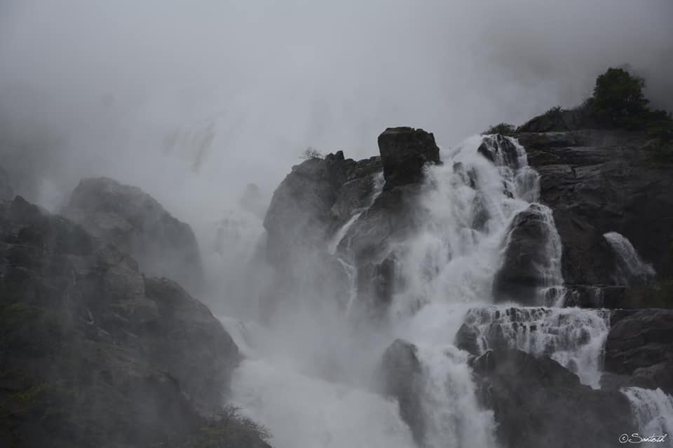 Dudhsagar in Monsoon