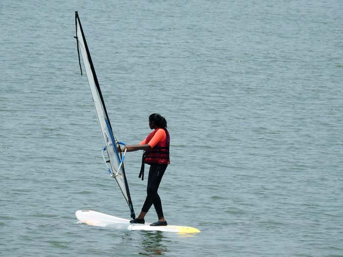 Windsurfing in Goa
